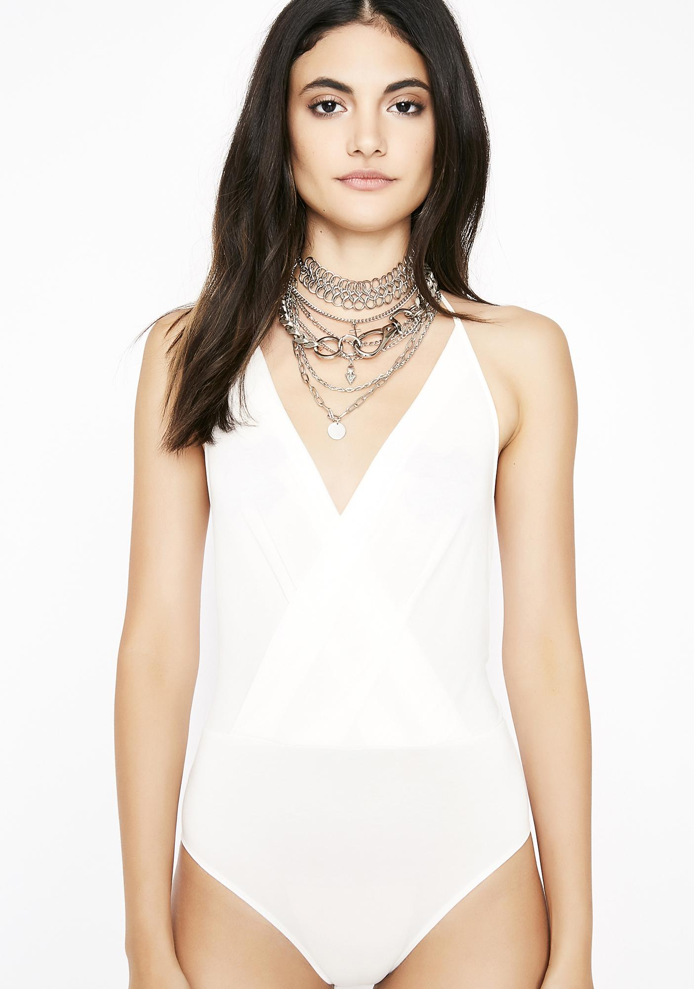 Purely Break It Off Halter Bodysuit
