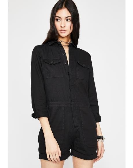 In Demand Cargo Romper