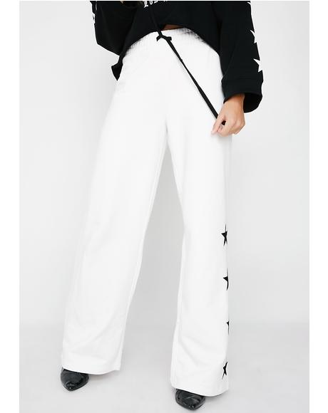 Trk Terry Star Pants