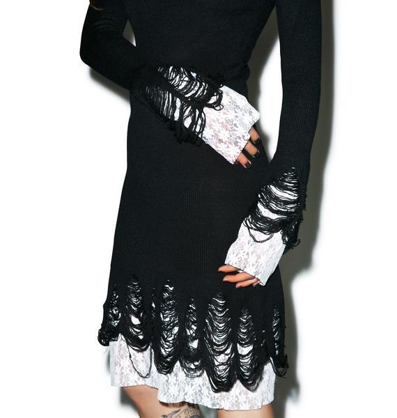 Killstar Lestat Knit Dress