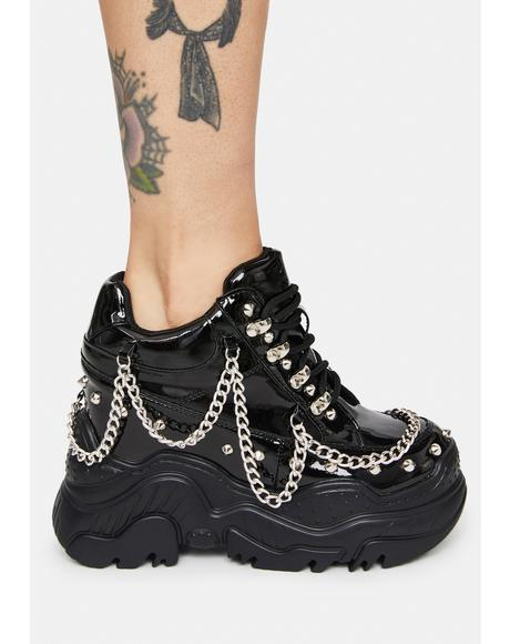 Patent Space Candy Platform Sneakers