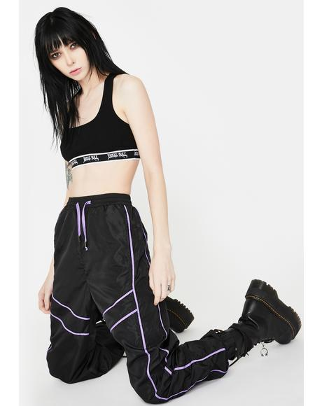 Paneled Sports Trousers