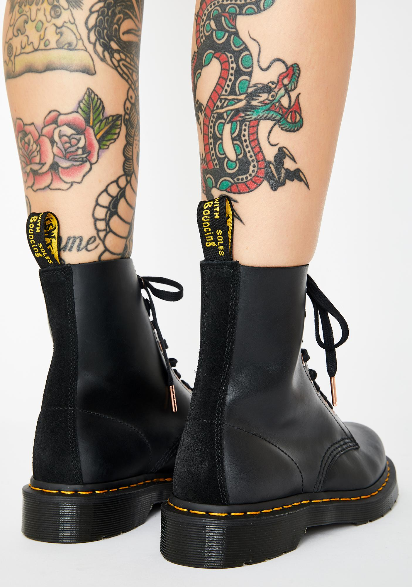 Dr. Martens 1460 Pascal Soap Stone Boots