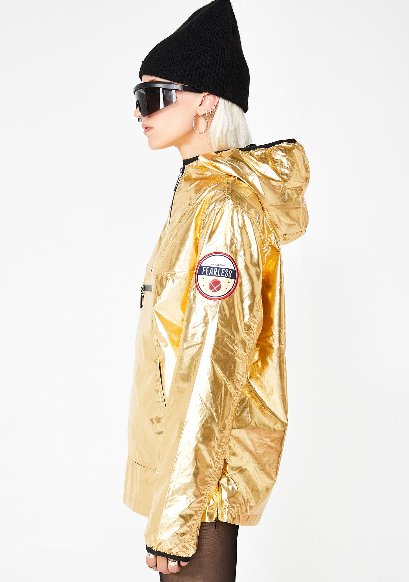 Glowin' Space Out Metallic Jacket