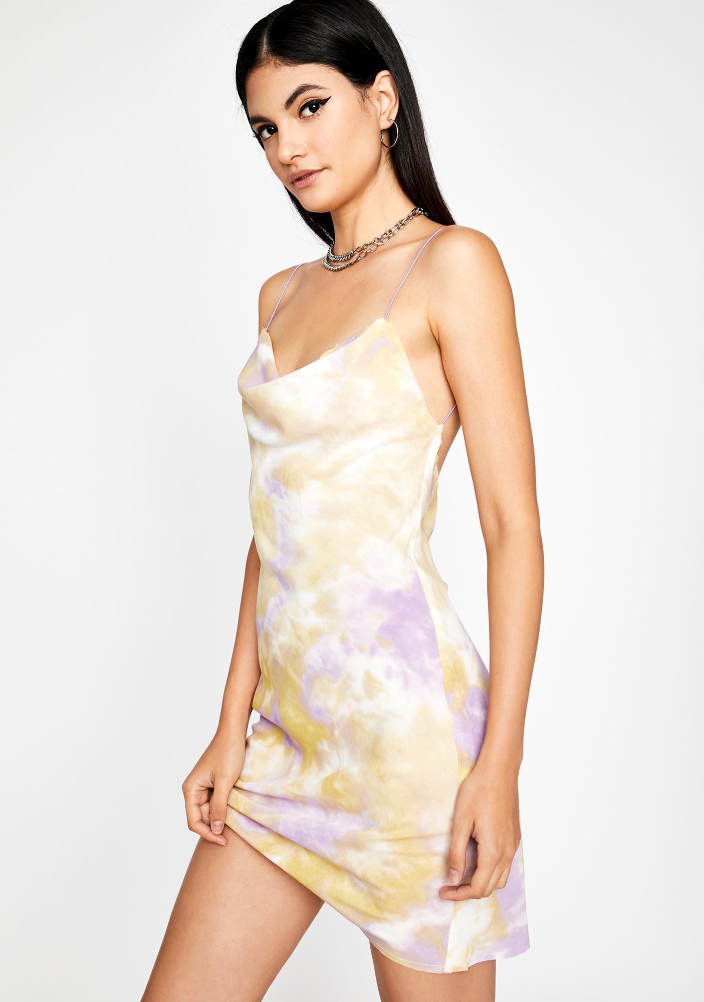 Bursting With Desire Slip Dress
