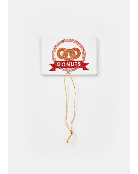 Hot N' Fresh Doughnut Ornament