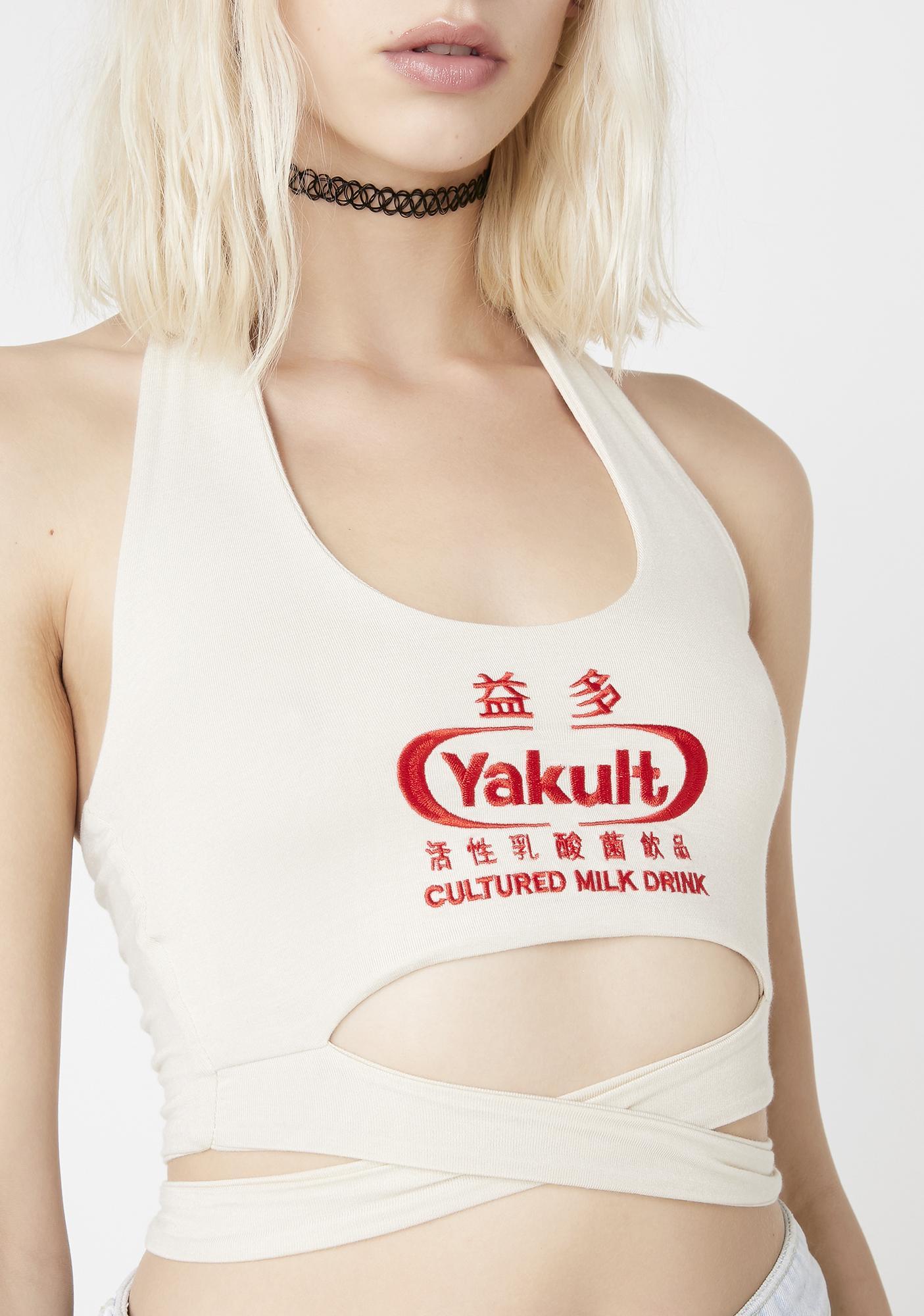 O Mighty Yogurt Halter Top
