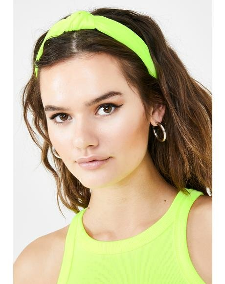 Nuclear Knot Your Babygirl Headband