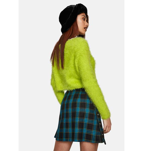 The Ragged Priest Trinity Plaid Mini Skirt