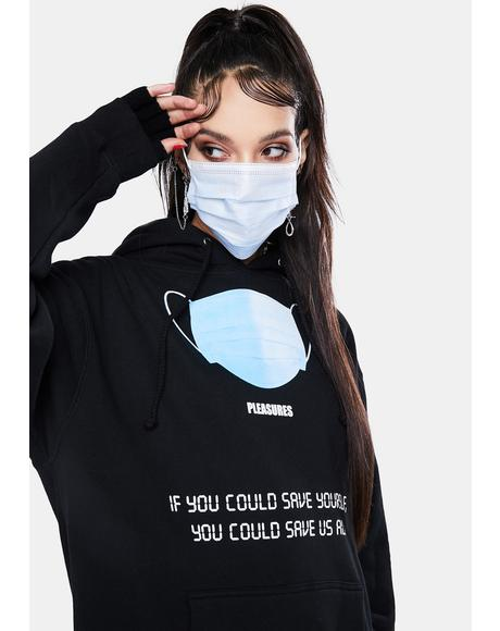 Save Yourself Graphic Hoodie