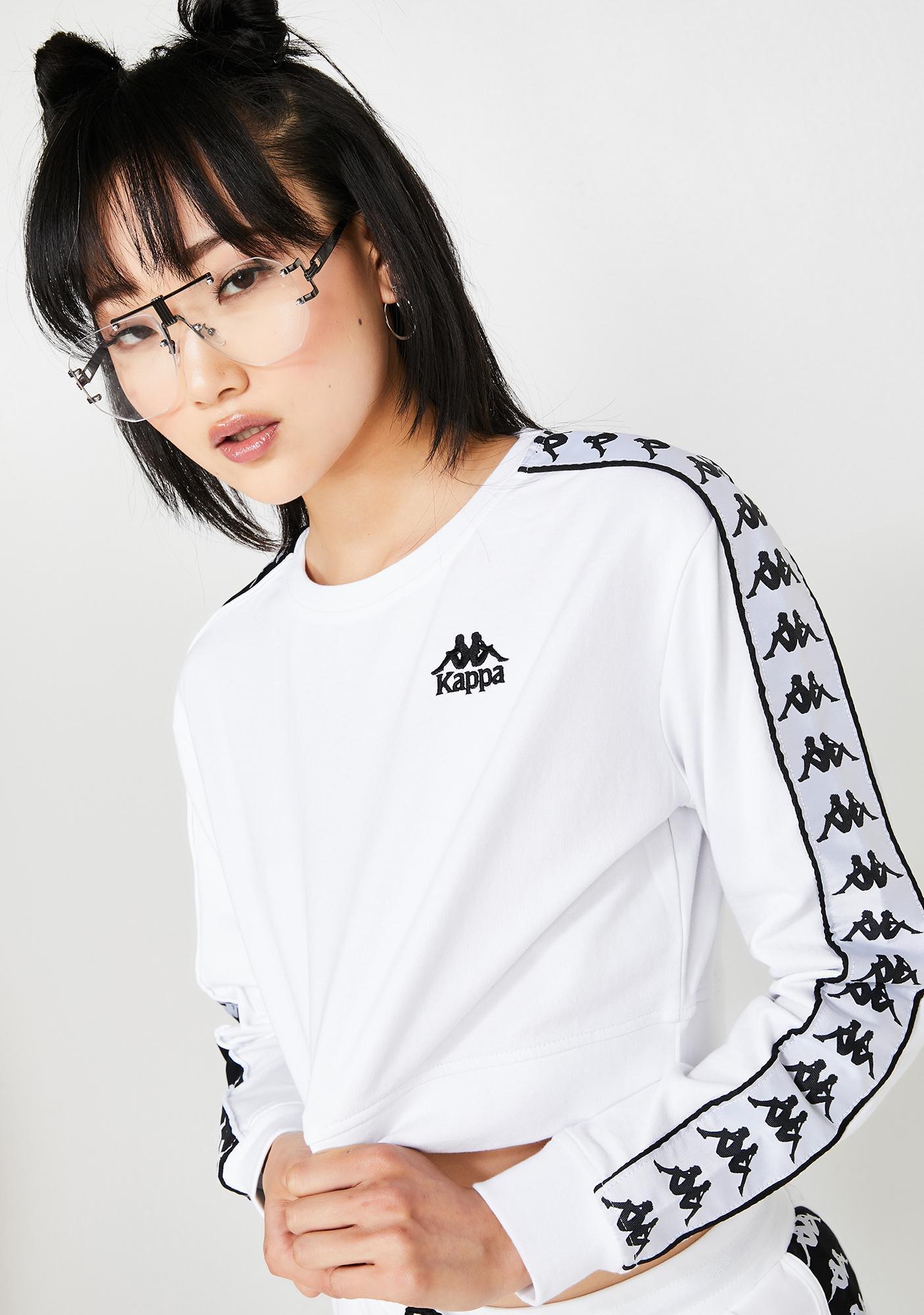 Kappa 222 Banda Ays Crop Sweatshirt