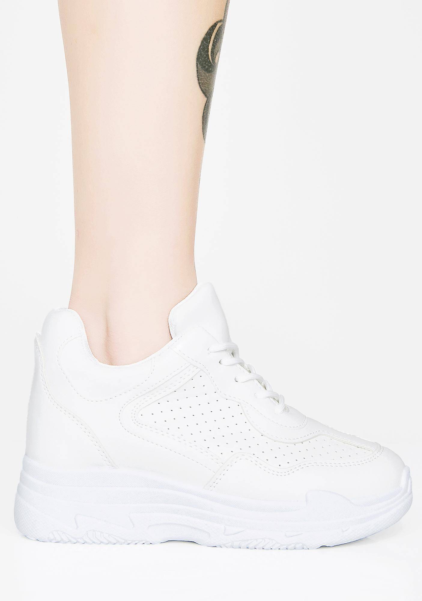 Romp Around Platform Sneakers