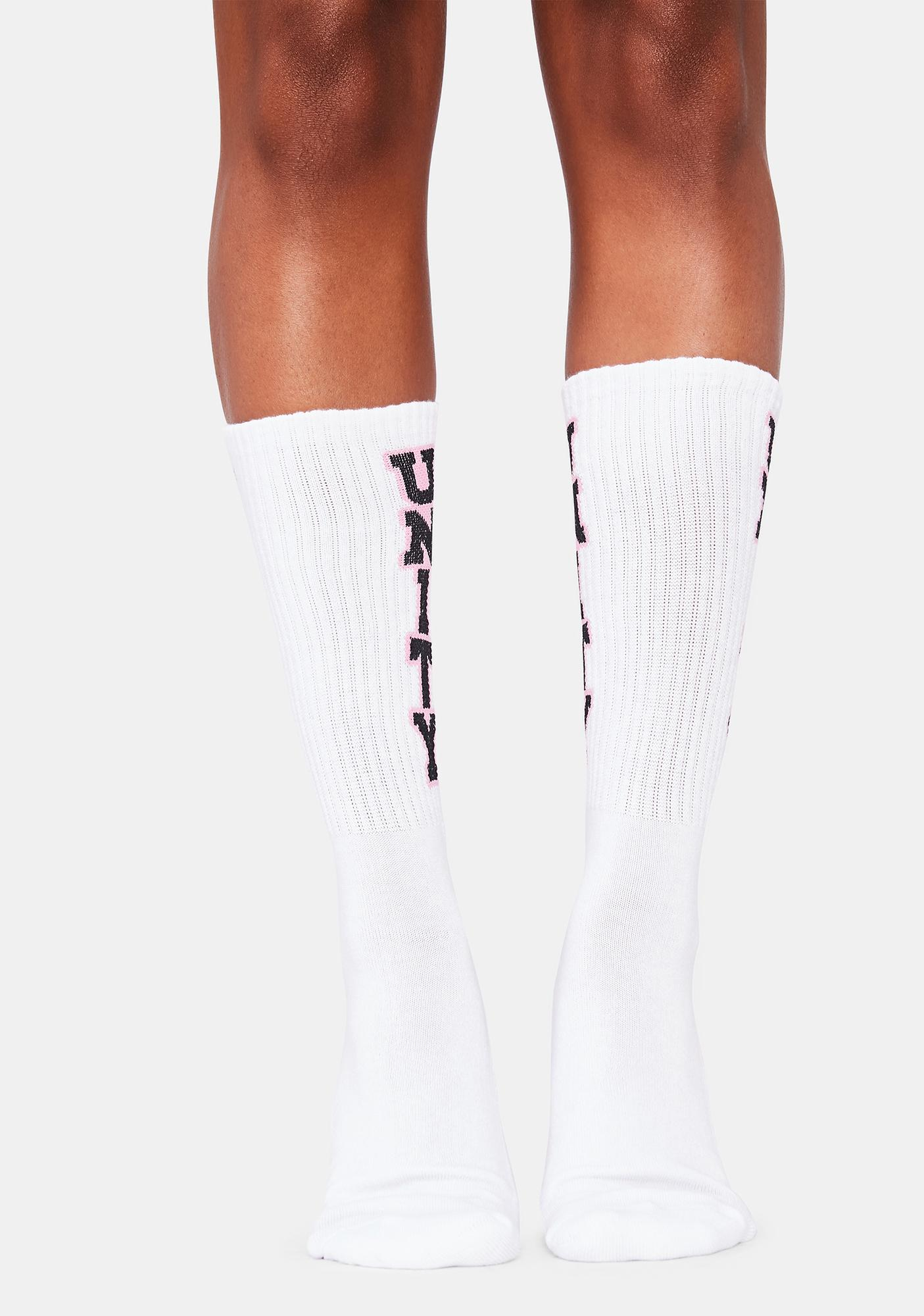 Learn To Forget Unity Crew Socks