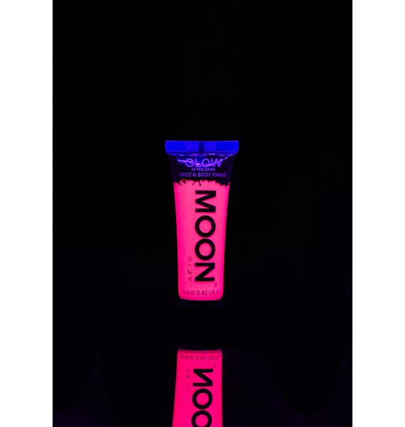 Moon Creations Pink Glow In The Dark Face N' Body Paint