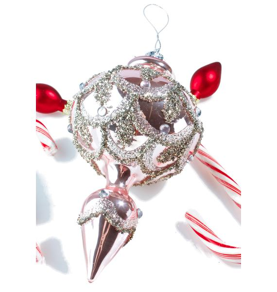 Princess Glitter Ornament