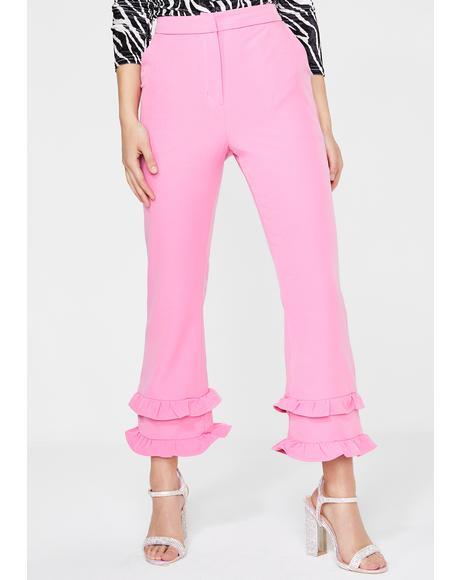 Sugar High Flared Trousers