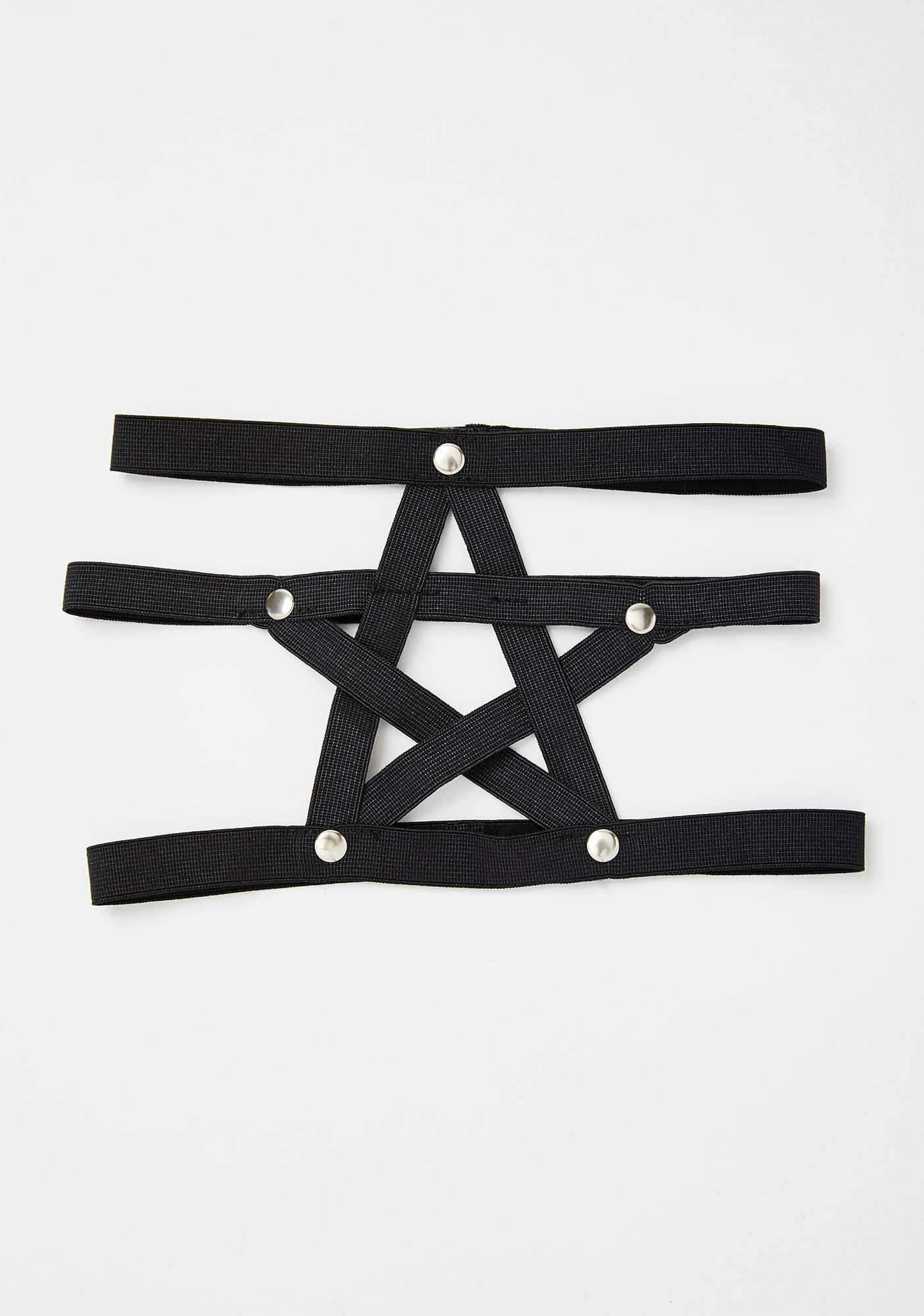 Spellbound Pentagram Leg Harness