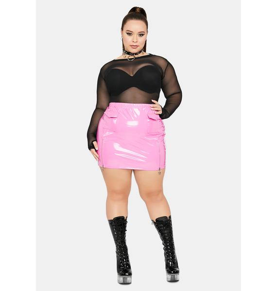 HOROSCOPEZ Miss Productive Princess Cargo Skirt