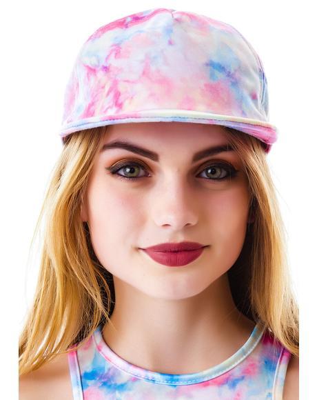 Tie Dye Folly Hat