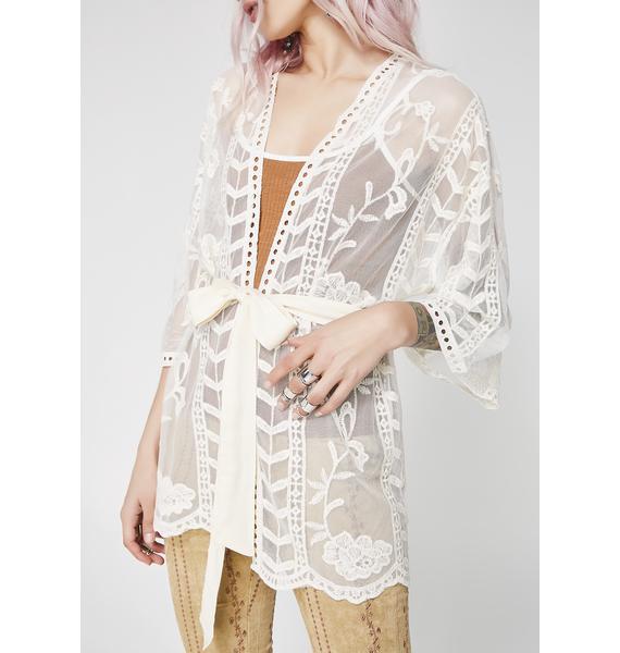 Rhythm State Sheer Kimono
