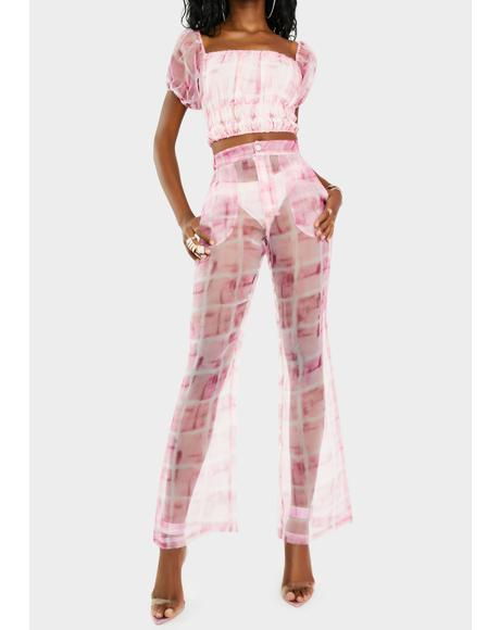 No Doubt Organza Pants