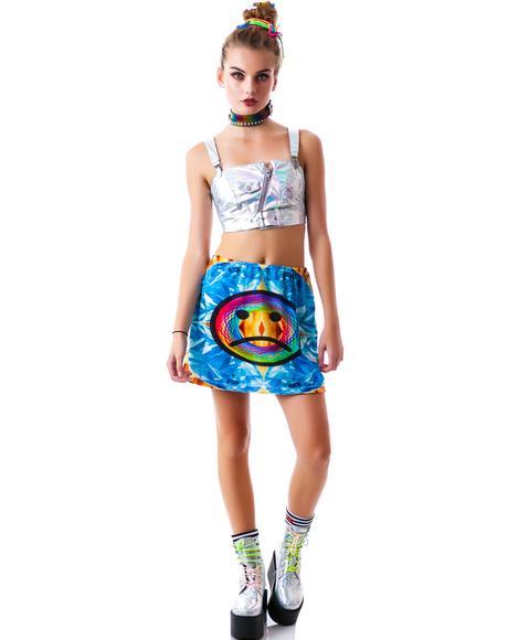 Fast Food Sadness Miniskirt