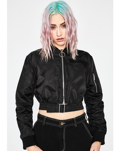 Crash Control Bomber Jacket