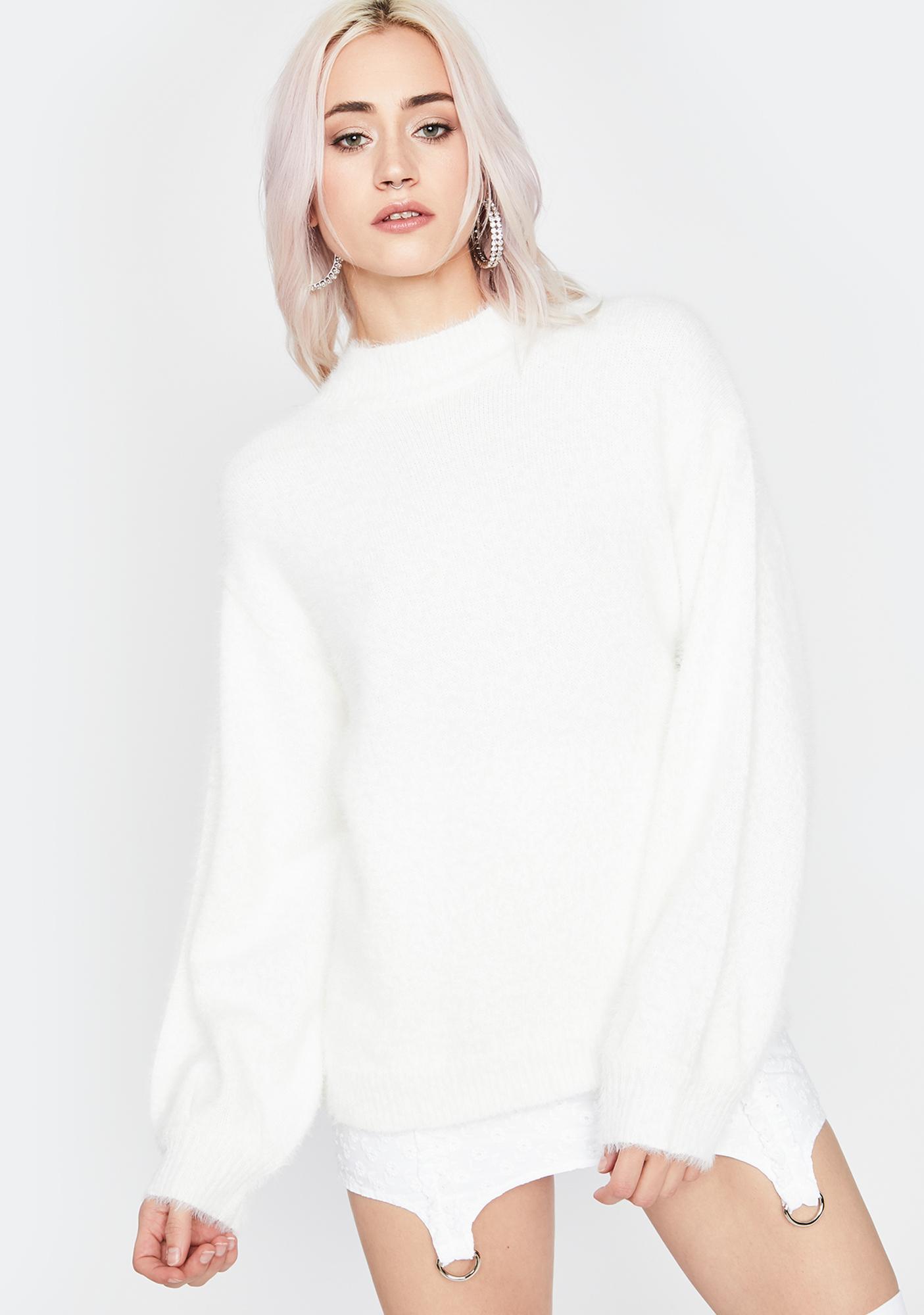 Keep It Simple Knit Sweater