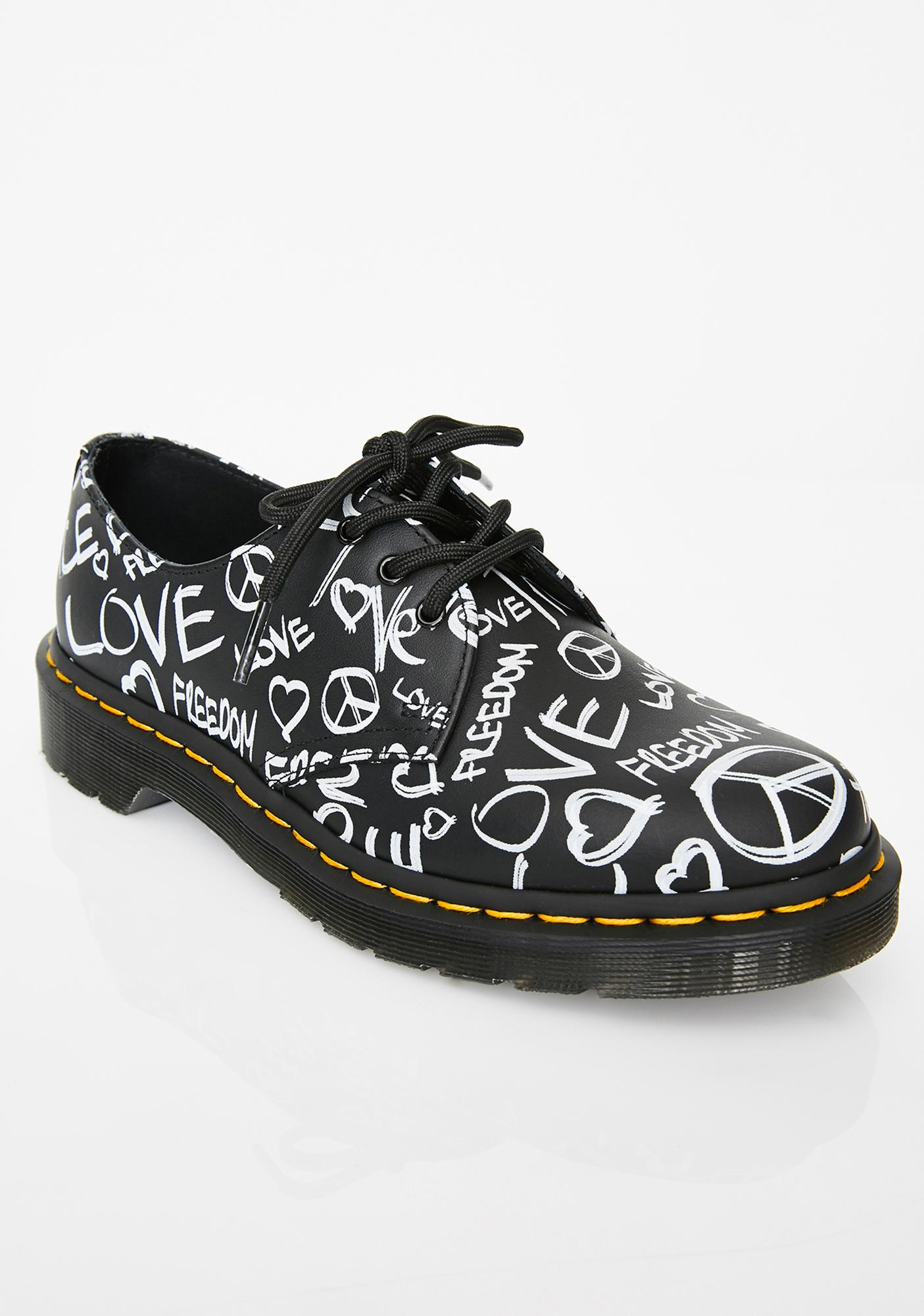 Dr. Martens 1461 Backhand Oxfords