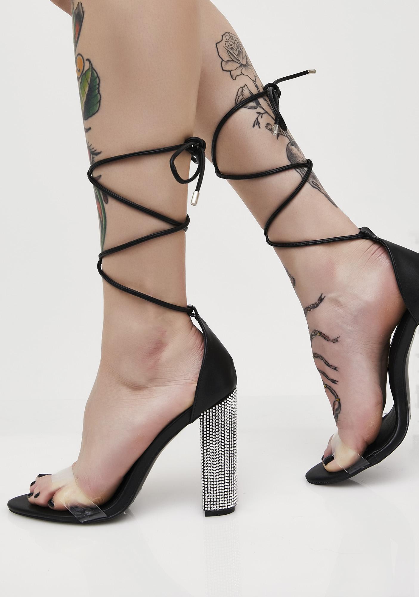 Puttin' On The Glitz Heels