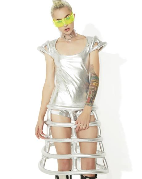 Cyber Crinolina Dress