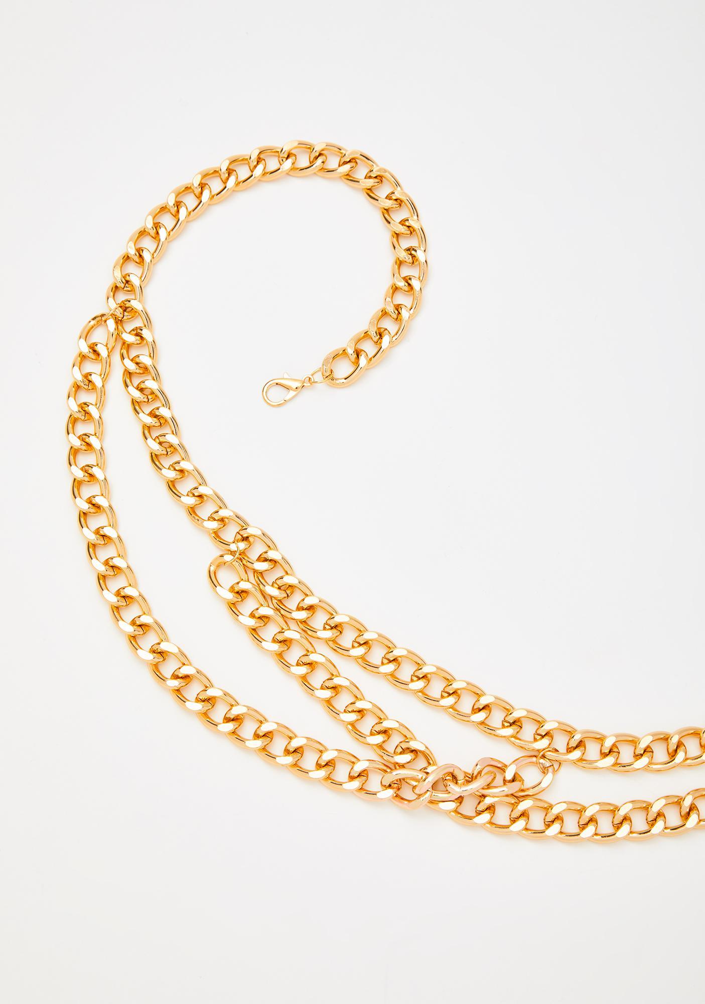 Riches On Riches Chain Belt