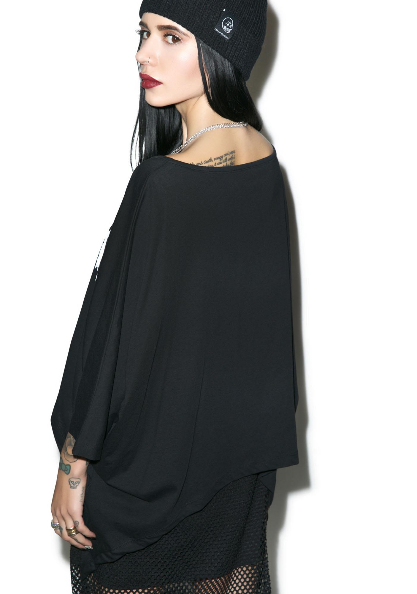 Killstar Libra Drape Top