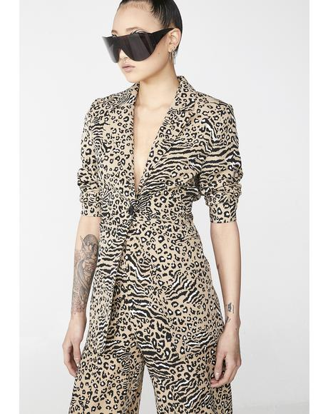 Animal Suit Blazer