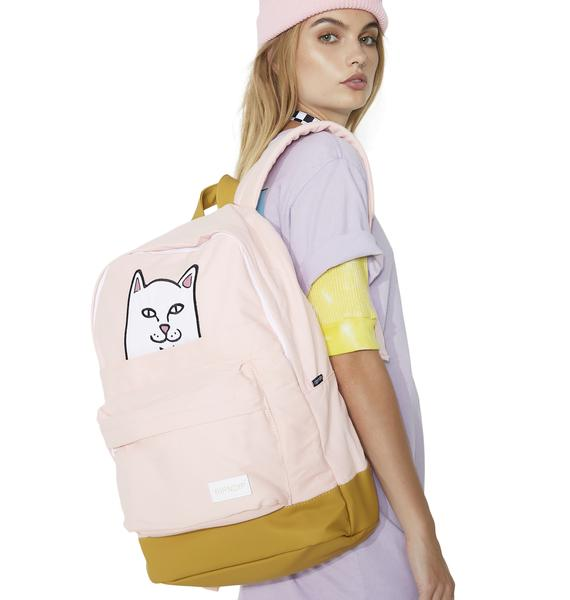 RIPNDIP Blushin' Lord Nermal Backpack