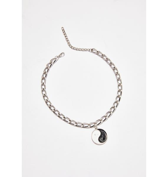 Good N' Bad Chain Choker