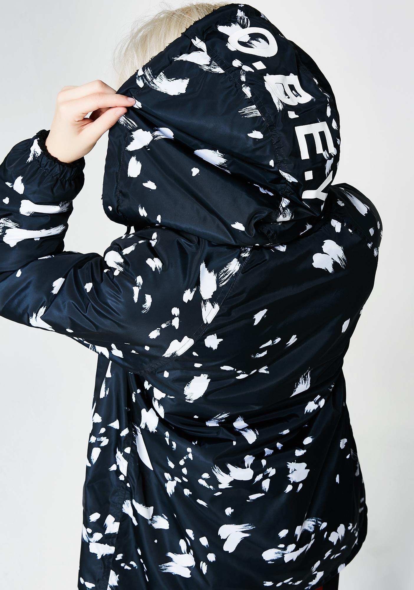 Obey Kendall Sherpa Coat