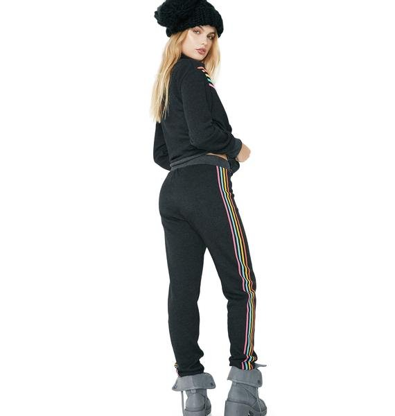 Wildfox Couture 80s Track Star Bottoms Jack Jogger