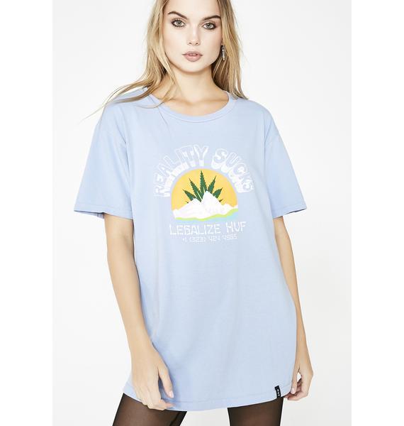 HUF Reality Sucks T-Shirt