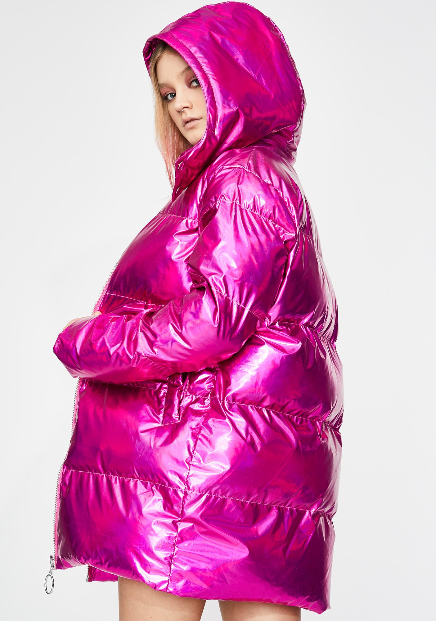 Club Exx Sensory Ecstasy Puffer Jacket