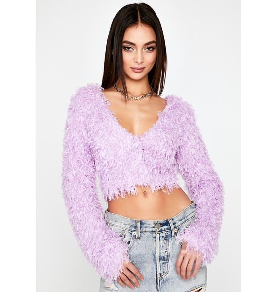 In For A Treat Crop Sweater