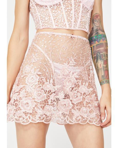 Devilish Beaded Skirt