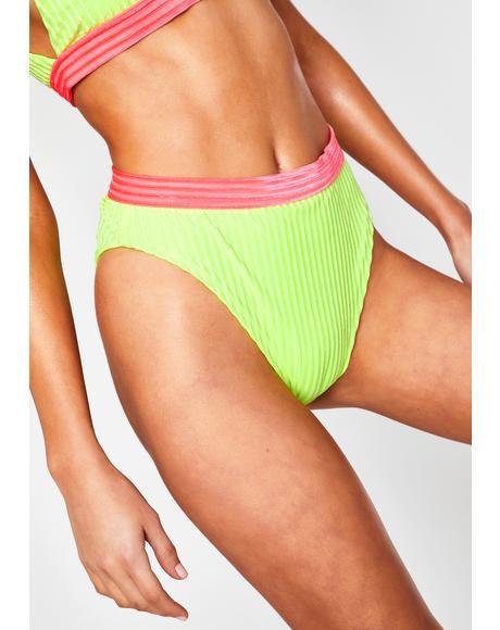 Neon Yellow Ultra Bikini Bottoms