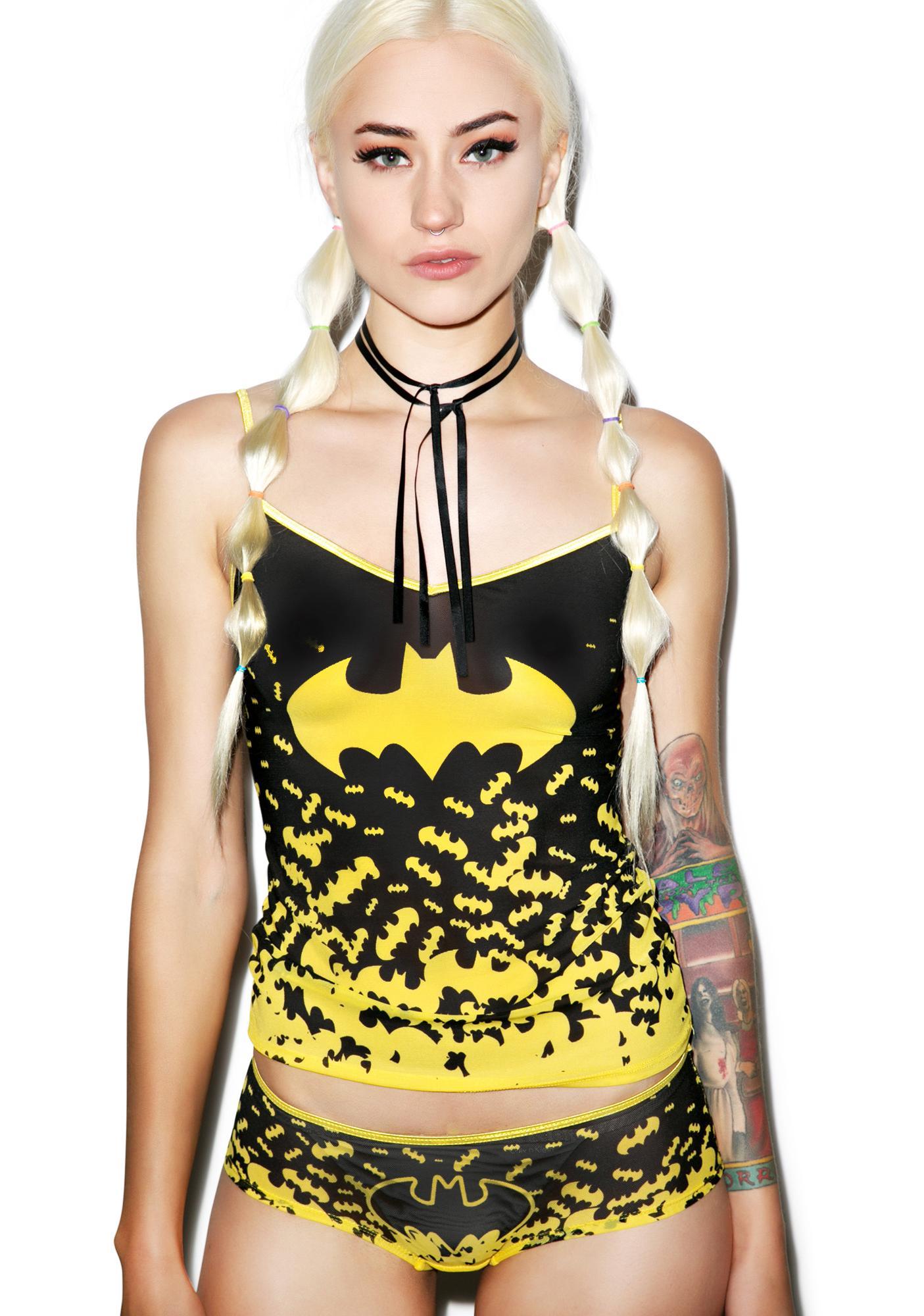Undergirl Batman Mesh Set
