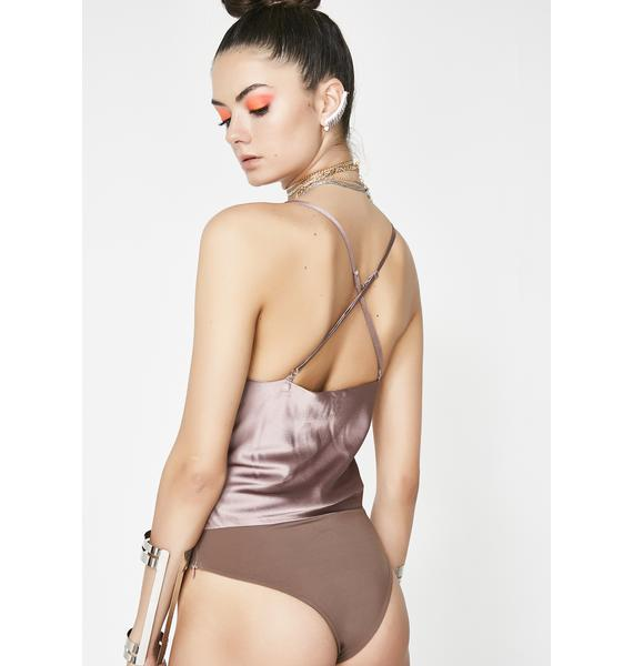 Gotta Get Down Satin Bodysuit