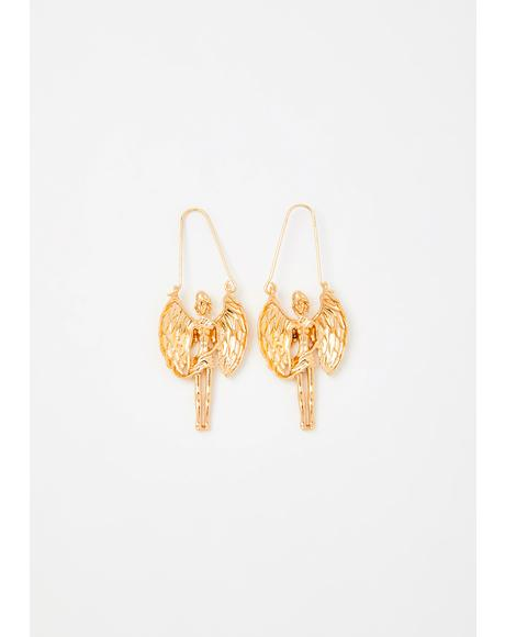 Victorious Virgo Drop Earrings