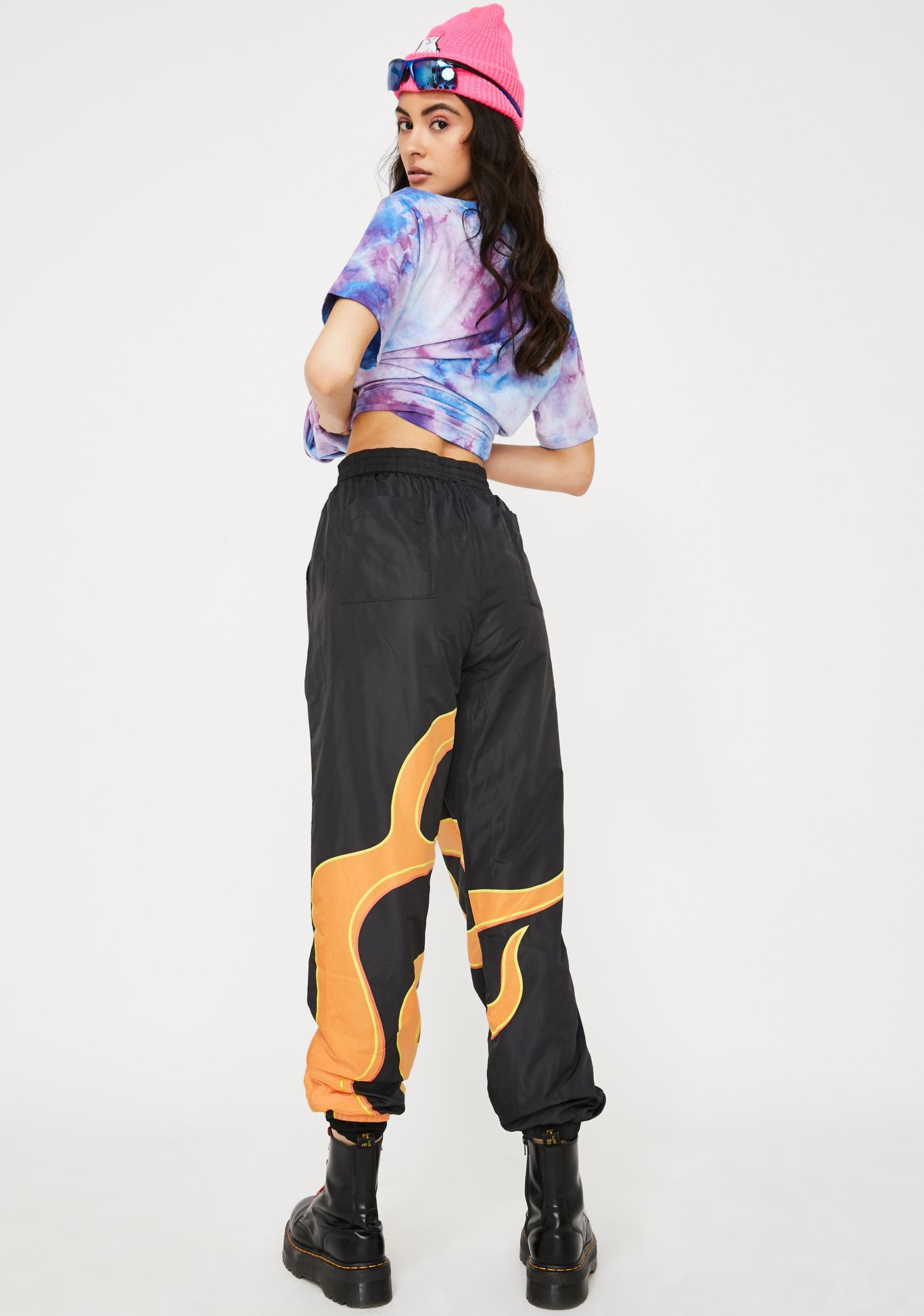 RIPNDIP Flaming Hot Track Pants