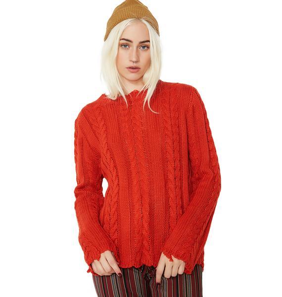 Baddie Dreams Knit Sweater