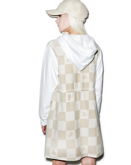 Boxed Angel Hooded Dress