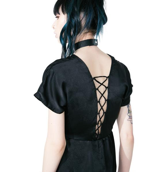 Motel Salazar Tie Back Dress
